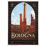 zkpzk Italien Tourismus Reise Poster Bologna Klassische