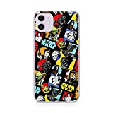 ERT GROUP Original Star Wars Handyhülle Gwiezdne Wojny 018 iPhone 11 Phone Hülle Cover, Mehrfarbig