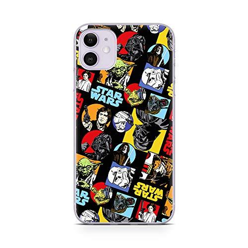 Original & Offiziell Lizenziertes Star Wars Logo Handyhülle für iPhone 11, Hülle Star Wars, Hülle mit Star Wars, Hülle, Cover aus Kunststoff TPU-Silikon, schützt vor Stößen & Kratzern