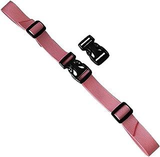 General Backpack Buckle Adjustable Belt Backpack Belt-Pink