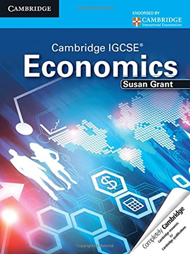 うるさい湿った縞模様のCambridge IGCSE Economics Student's Book (Cambridge International IGCSE)