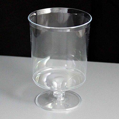 Tamaño pequeño copas de plástico desechables–160ml (12unidades)