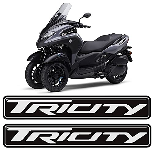 para Yamaha Tricity 125 300 Motorcycle Emblem Badge Logo Decals Scooter Stickers Tank Pad Cover 2015 2016 2017 2018 2019 2020