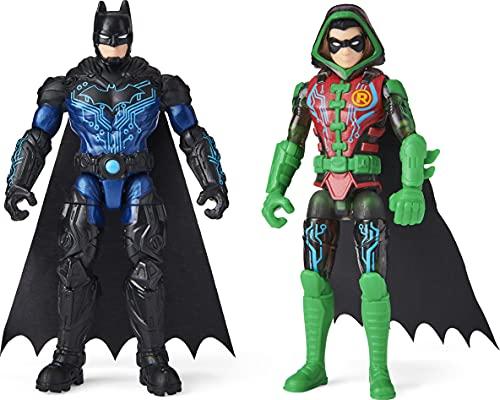 4-inch Bat-Tech Batman and Robin Action Figures