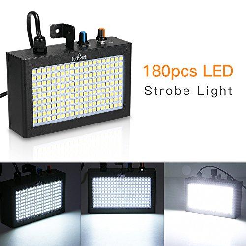 Tomshine DMX512 Luz de Escenario, 180 LED Luz de