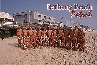 Greetings from the Bethany Beach Patrol Bethany Beach, Delaware Original Vintage Postcard