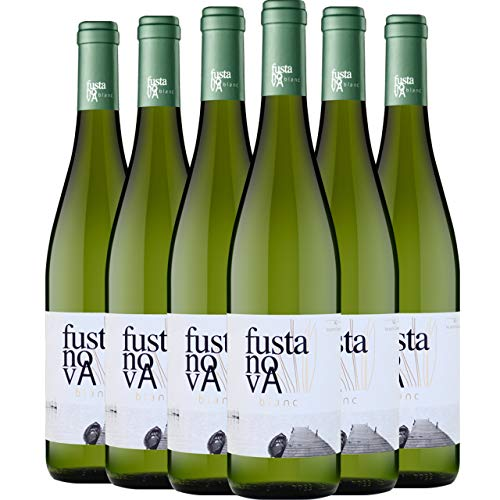 Fusta Nova Blanc Vino Blanco D.O. Valencia 6 Botellas - 750 ml