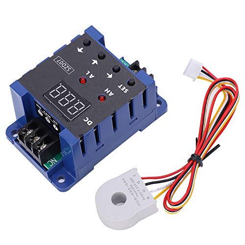 Amperímetro digital de CC, interruptor de sensor de corriente Alarma de sobrelímite Protección contra sobrecarga SZD07 DC8‑35V