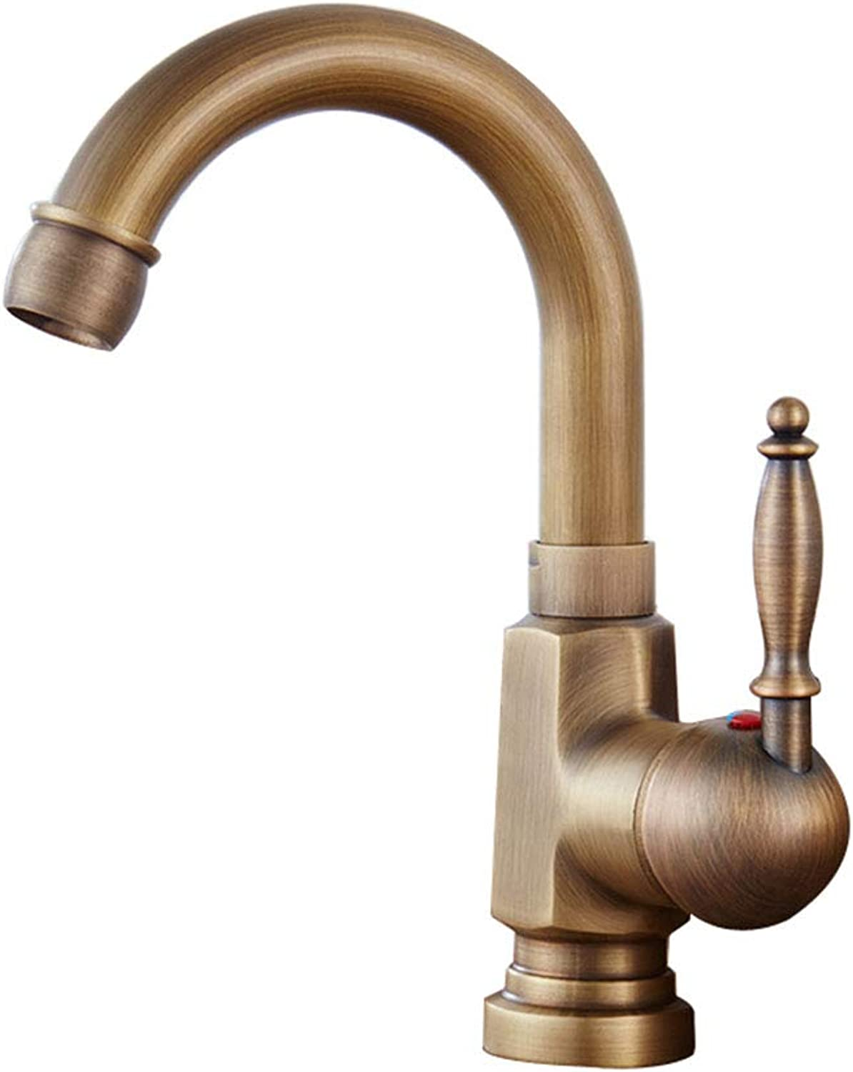 SEEKSUNG Kitchen faucet,Single Handle One Hole Electroplated Standard Spout Ordinary Kitchen Taps,for Kitchen Bathroom Sink