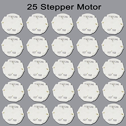 CBK X27.168 Instrument Cluster Stepper Motor Gauge Speedometer Kit for GM GMC Chevrolet Tahoe Monte Carlo(Set of 25)