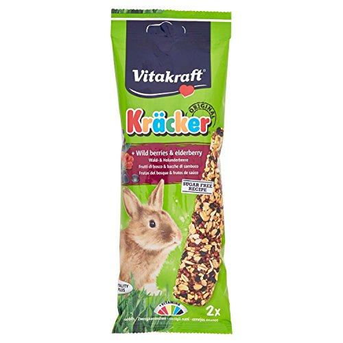 Vitakraft Kracker ai Frutti di Bosco Conigli Nani 2 Pezzi - Snack roditori