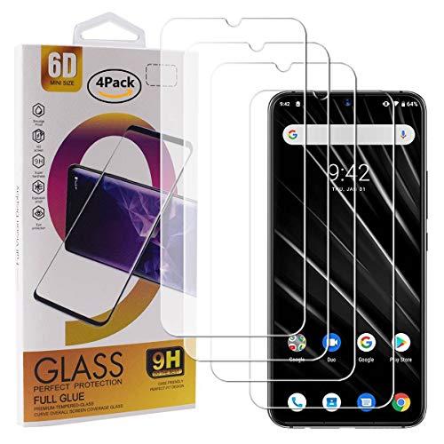 Guran 4 Pièces Protecteur D'écran en Verre Trempé pour UMIDIGI S3 Pro Smartphone Anti Rayures Protecteur Ultra-Mince HD Dureté 9H Transparent Film