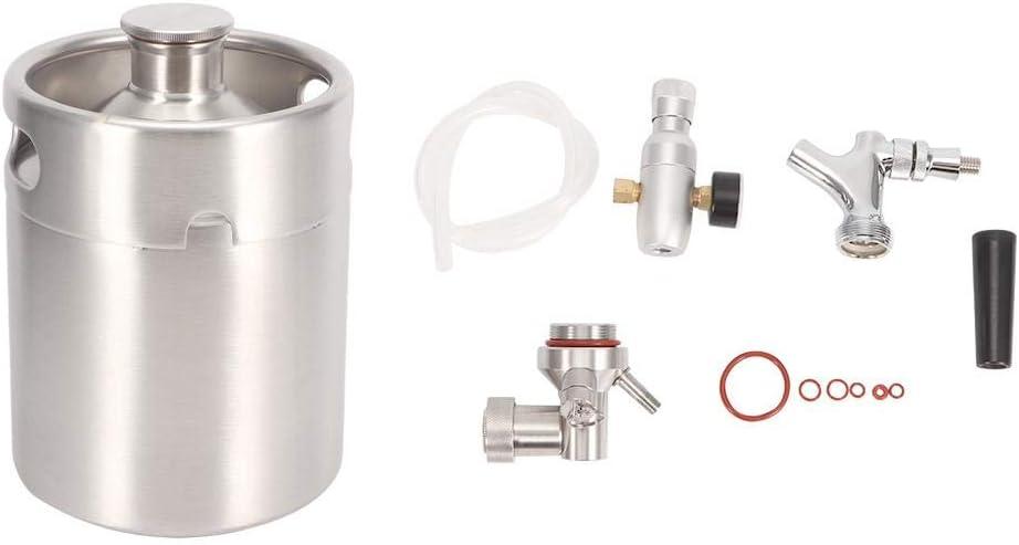 Pasamer 2L Stainless Steel Under blast sales Beer System Las Vegas Mall Kit Homebrew with Keg