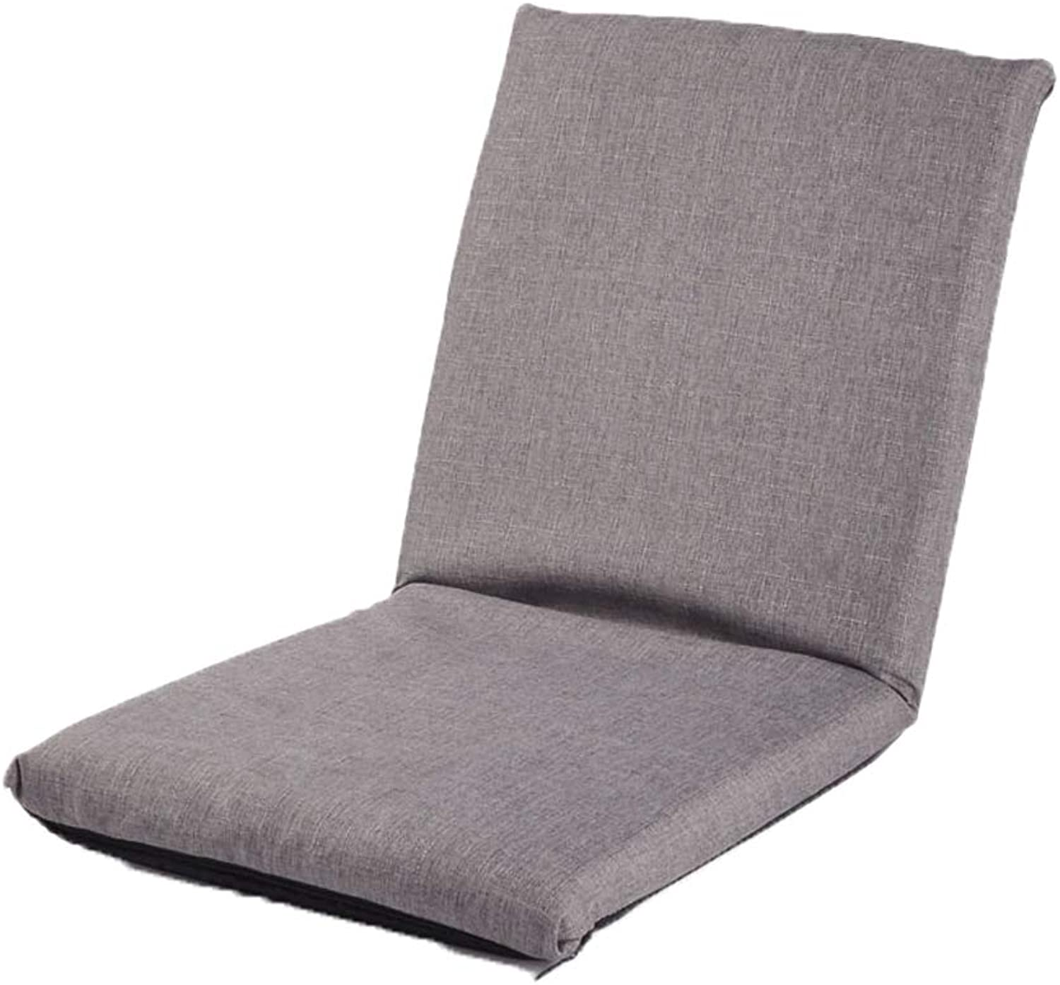 TLTLLRSF Lazy Couch, Tatami Backrest Can Be Folded in The Winter and Summer Dual-use Balcony Bay Window Lounge Chair, Can Be Used for Meditation Reading Newspaper, Multi-color Optional