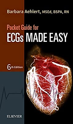 Pocket Guide for ECGs Made Easy, 6e from Mosby/JEMS