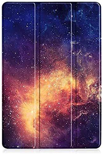 LCM Accesorios De Pestañas para Huawei MediApad M6 10.8, Funda Magnética De Cuero PU Flip Stand Tablet Folio Funda para Media Pad M6 M 6 (Color : Galaxy)