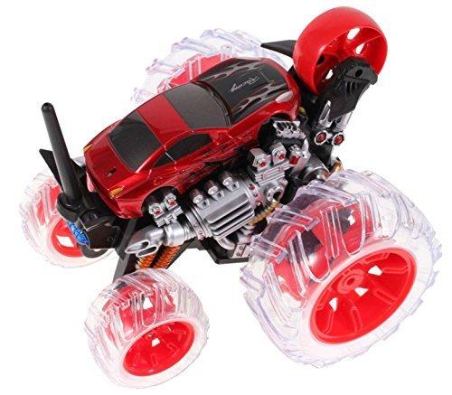 NUEVO, Stuntman Truck Cyclone Wheel HighTech Juguete con mando a distancia y efectos de sonido, coche teledirigido