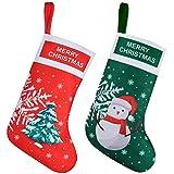 EasyAcc - Medias de Navidad Personalizadas de Gran Tamaño, Medias de Navidad Clásicas para Chimenea, para Niños, Juguetes, Vacaciones Familiares, Navidad, Año Nuevo, Decoración para Fiestas, Regalos
