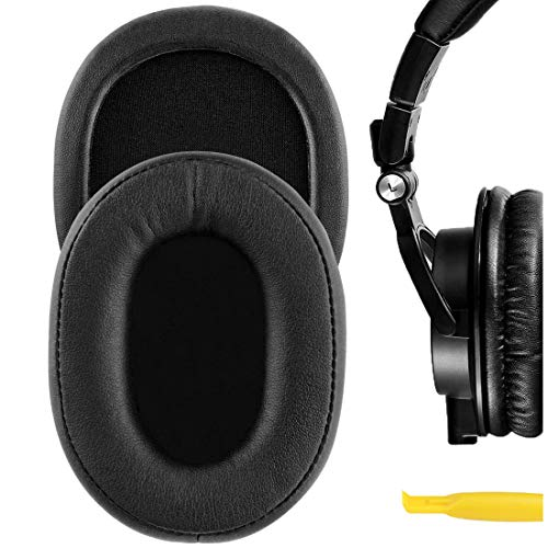 Geekria Earpad for ATH M30, M35, M50, M50X, M50s, Sony MDR-7506, MDR-V6, MDR-CD900ST Headphones Replacement Ear Pad/Ear Cushion/Ear Cups/Ear Cover/Earpads Repair Parts
