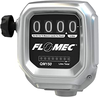 Sponsored Ad - FLOMEC 139121-07, QM150N10 Mechanical Fuel Meter, 8-150 LPM (2-40 GPM), 1 in NPT, Accuracy +/- 0.25%, Oval ...