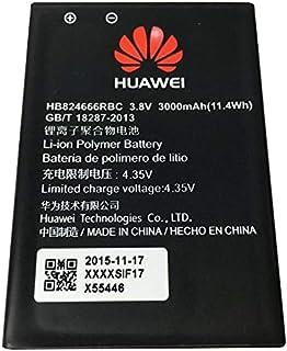 Huawei Battery for E5577 Portable Router, 3000 mAh, Black, HB824666RBC