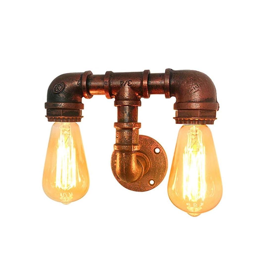 専制パラナ川パーチナシティ壁掛け照明 led壁灯 壁取り付け用燭台ヨーロッパスタイルのダブルヘッドウォールライトベッドルームスタディベッドサイド廊下階段ライトアイルライト