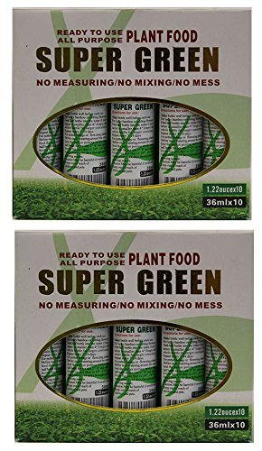 KL Design & Import - 20 Bottles of Super Green Green Lucky Bamboo Fertilizer Plant FoodNEW