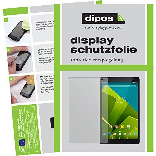 dipos I 2X Schutzfolie matt kompatibel mit Vodafone Tab Prime 6 Folie Bildschirmschutzfolie