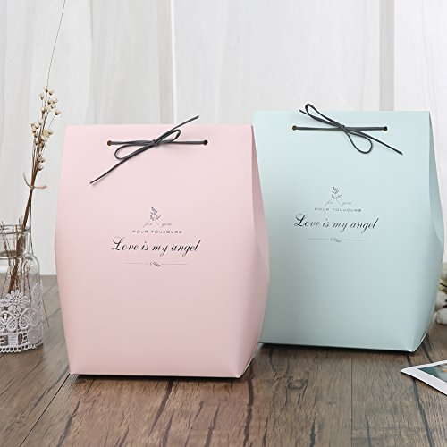 Chilly Gift Boxes Packing Bags Set of 10 Decorative Presents Bags Bundle for Packing Clothes Toys Men#039s Shirts Tops Kids amp Baby Clothing and Accessories 2 Colors
