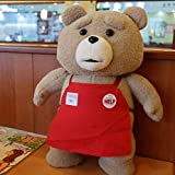 XMxx Teddy Bear in Red Apron 15-inch, Ted...