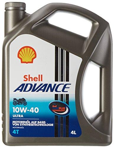Shell Advance Ultra 4T 10W-40/4-Liter-Kanister