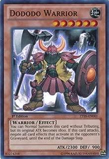 Yu-Gi-Oh! - Dododo Warrior (ZTIN-EN001) - 2013 Zexal Collection Tin - 1st Edition - Super Rare