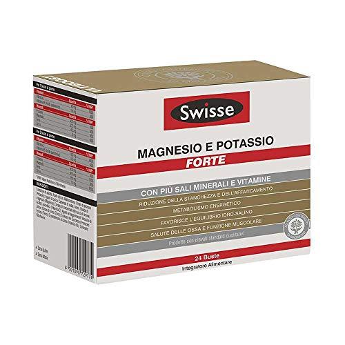 Swisse Magnesio E Potassio Forte Integratore Alimentare, 24 buste