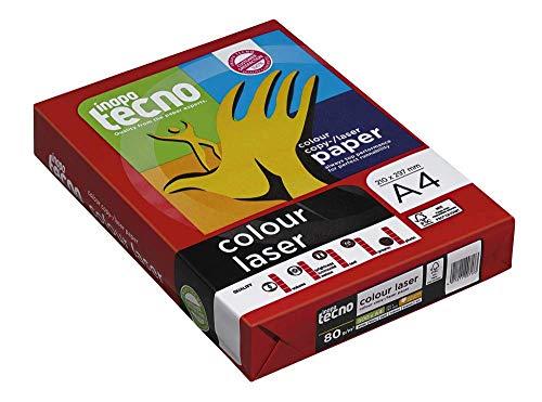inapa tecno Laserpapier colour laser A4 80 g/qm 500 Blatt