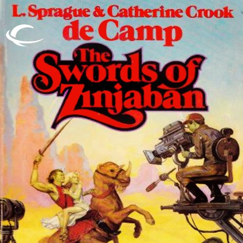 The Swords of Zinjaban audiobook cover art