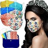 MVT - 60x Mascarilla Protectora Higiénica Desechable UNE 0064-1:20 3 capas Colores y...
