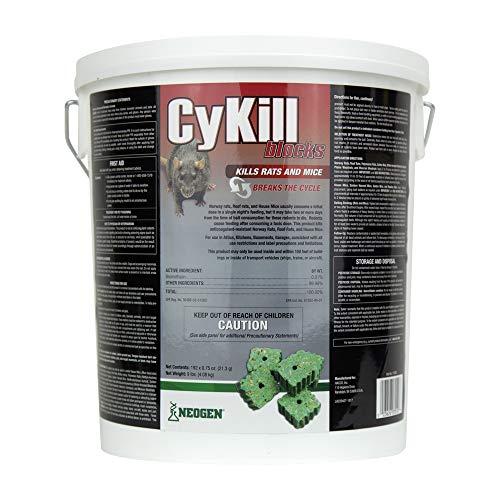 Neogen 112830 Cykill 0.75 oz Blocks 9 lb Pail, 9-Pound, 192 Count