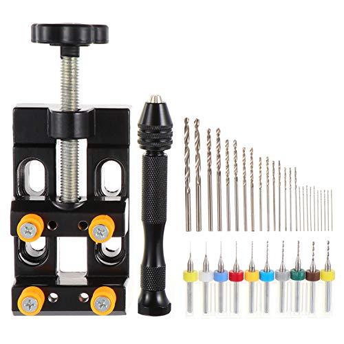 DOITOOL 37 pz Twist Drill Bit In Acciaio Ad Alta Velocità Durevole Manico Dritto Drill Bit per Metallo Vetro Plastica Legno