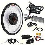 "Electric Bikes Conversion Kit - 26"" 48V 1KW Electric Bicycle Rear Wheel Motor"