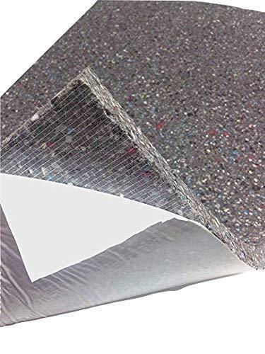 Verbundschaum Schaumstoff SELBSTKLEBEND Dämmung Akustik Schallschutz (100cm x 50cm x h) (100x50x) (100x50x2)
