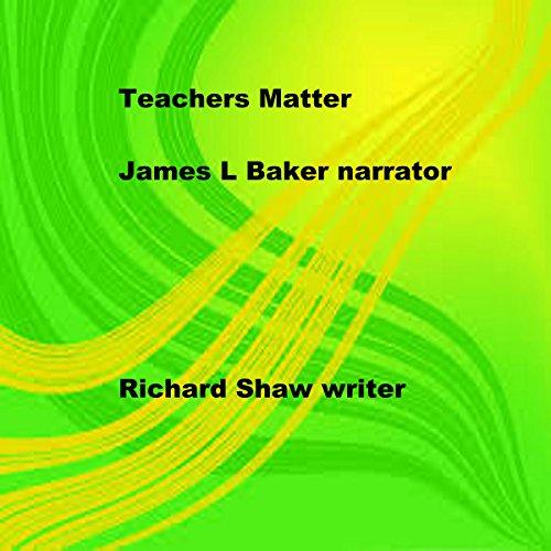 Teachers Matter audiobook cover art