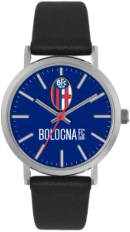 Bologna Fc 1909 - Reloj Tidy de Piel Bologna FC Unisex - Adulto, no tamaño