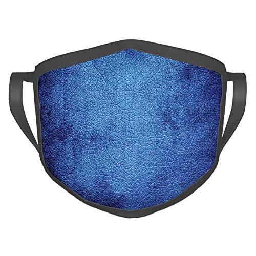 Komfortable, winddichte Maske, Martian Alien Haut wie dunkelblau, zeitgenössisches Interessantes Design Kunstdruck, bedruckte Gesichtsdekorationen für Erwachsene