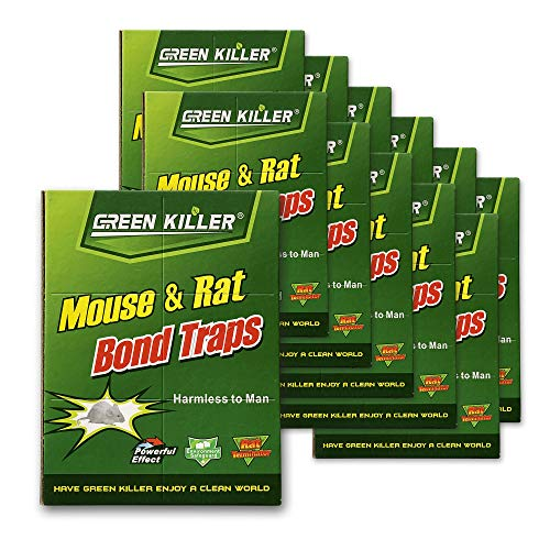 Mice Traps Sticky Boards, Strongly Adhesive,Mouse Traps That Work Capturing Indoor and Outdoor Rat Cockroach Spider 12 Pack