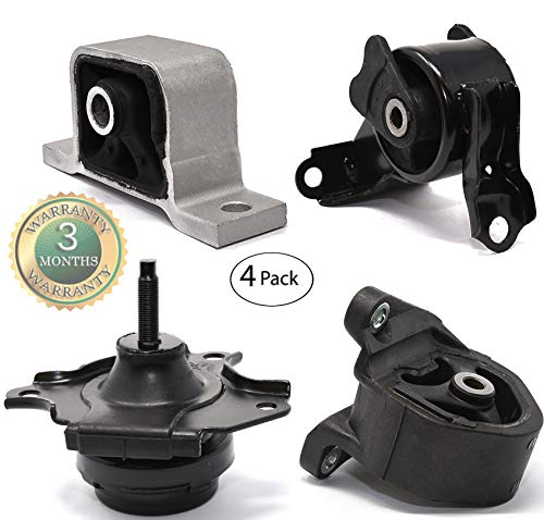 RP Remarkable Power, G031 Fit For 2002-2006 CRV 2.4L Engine Front&Rear/ Right Motor Transmission Mount Kit For AT Transmission A6596 A6597 A4504 A4506