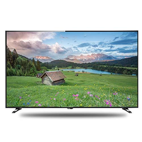 CYYAN 4K Ultra HD LED-Fernseher 32-Zoll-LCD-Fernseher, ultradünner Fernseher, Bildwiederholfrequenz: 60 Hz, schwarz