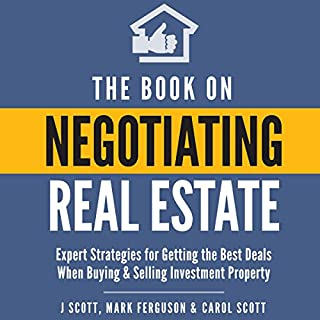 The Book on Negotiating Real Estate audiobook cover art