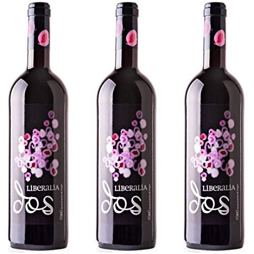 Liberalia Vino Tinto Joven - 3 botellas x 750ml - total: 2250 ml