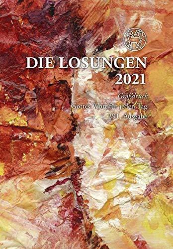 Losungen Deutschland 2021 / Die Losungen 2021: Geschenk-Grossdruckausgabe