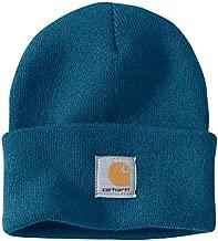 Carhartt Men's Acrylic Watch Hat A18, Ocean Blue, One Size